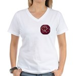 Happy Ending Women's V-Neck T-Shirt