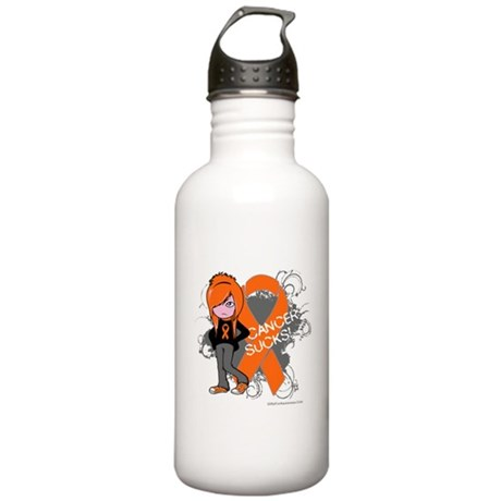 CancerSucks Leukemia Stainless Water Bottle 1.0L