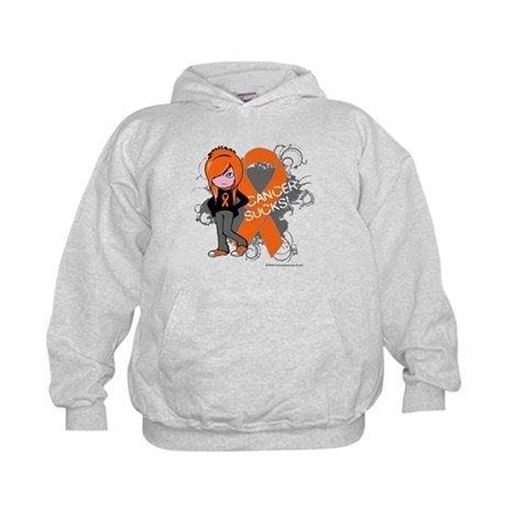 CancerSucks Leukemia Kids Hoodie