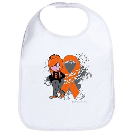 CancerSucks Leukemia Bib