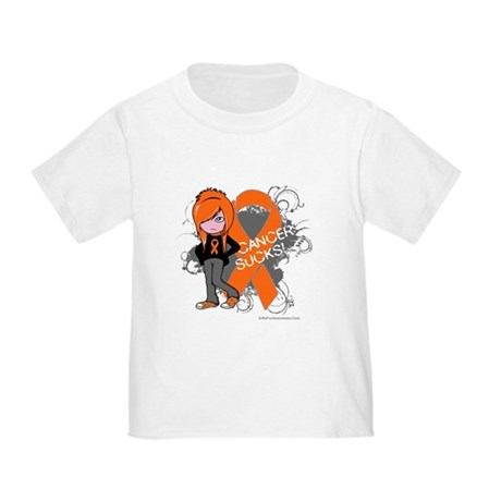 CancerSucks Leukemia Toddler T-Shirt