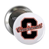 "Cincinnati Letter 2.25"" Button"