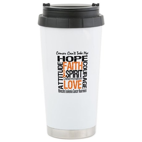 Leukemia Can'tTakeHope Ceramic Travel Mug