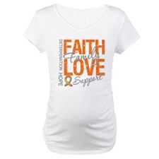 Leukemia Faith Family Shirt