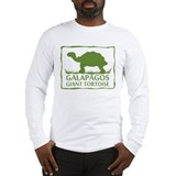 Galapagos Giant Tortoise Long Sleeve T-Shirt