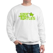Save the Turtles Sweatshirt