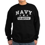 Navy Grandpa Jumper Sweater