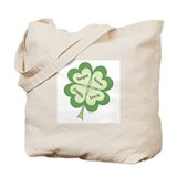 4 Leaf Clover Tote Bag