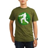 cricket sports batsman T-Shirt