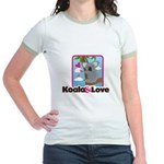 Koala & Love Jr. Ringer T-Shirt