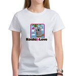Koala & Love Women's T-Shirt