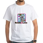 Koala & Love White T-Shirt