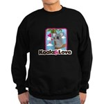 Koala & Love Sweatshirt (dark)