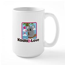 Koala & Love Large Mug