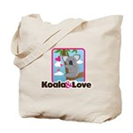 Koala & Love Tote Bag