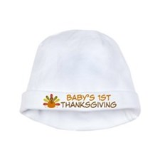 Babys 1st Thanksgiving Turkey Infant Hat