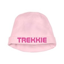 Pink Star Trek Trekkie Baby Hat For Girls