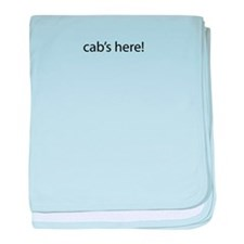 Cab's Here! baby blanket