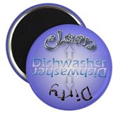 "Clean/Dirty Dishwasher 2-1/4"" Magnet"