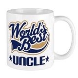 Worlds Best Uncle Small Mug