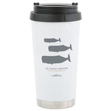 Social Creature Stainless Steel Travel Mug