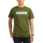 Hope Organic Men's T-Shirt (dark)