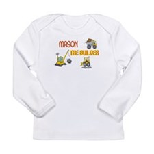 Mason the Builder Long Sleeve Infant T-Shirt