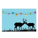 Deers: Merry Christmas Postcards (Package of 8)