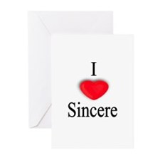 Sincere Greeting Cards (Pk of 10)