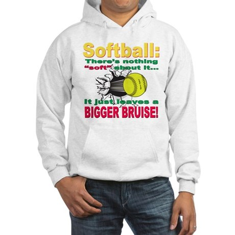 Girls Softball Hooded Sweatshirt