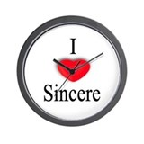 Sincere Wall Clock