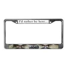 Funny Kensington License Plate Frame