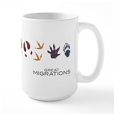 Animal Prints Large Mug