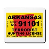 Arkansas Terrorist Hunting Li Mousepad