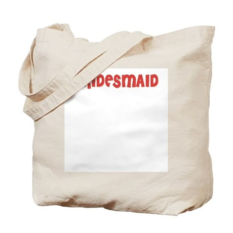 Heart Bridesmaid Tote Bag