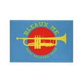 Bleaux Me - Jazz Fest 2 Rectangle Magnet (100 pack
