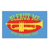 Bleaux Me - Jazz Fest 2 Decal