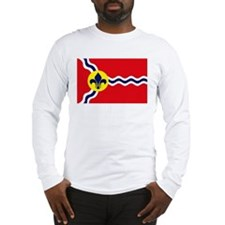 St. Louis Flag Long Sleeve T-Shirt
