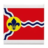 St. Louis Flag Tile Coaster