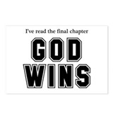 God Wins Postcards (Package of 8)