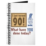 I Just Turned 90 Journal