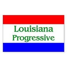 Louisiana Progressive Rectangle Decal