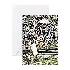Batik Agility Greeting Cards (Pack=6)