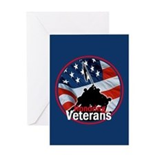 Honoring Veterans Greeting Card