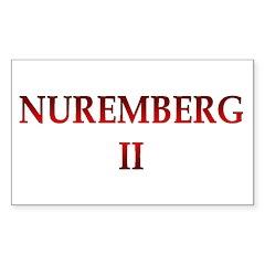 Nuremberg 2 Sticker (Rectangle 50 pk)