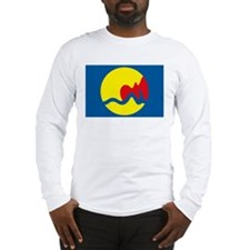 Grand Rapids Flag Long Sleeve T-Shirt