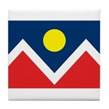Denver Flag Tile Coaster