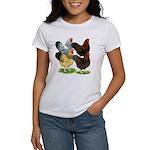 Wyandotte Rooster Assortment Women's T-Shirt