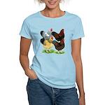 Wyandotte Rooster Assortment Women's Light T-Shirt