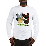 Wyandotte Rooster Assortment Long Sleeve T-Shirt